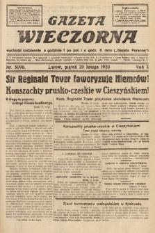 Gazeta Wieczorna. 1920, nr5090