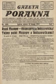 Gazeta Poranna. 1920, nr5091