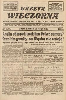 Gazeta Wieczorna. 1920, nr5094
