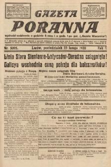 Gazeta Poranna. 1920, nr5095