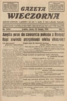 Gazeta Wieczorna. 1920, nr5098