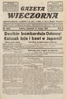 Gazeta Wieczorna. 1920, nr5100