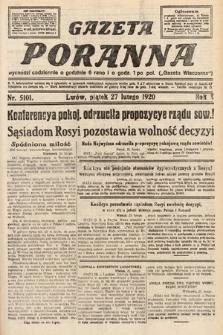 Gazeta Poranna. 1920, nr5101
