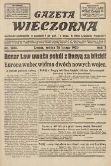 Gazeta Wieczorna. 1920, nr5104