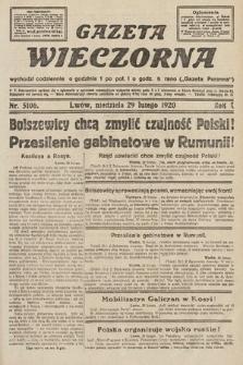 Gazeta Wieczorna. 1920, nr5106