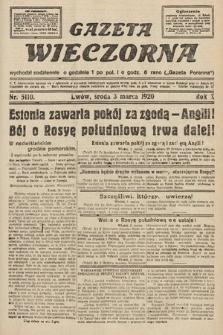 Gazeta Wieczorna. 1920, nr5110