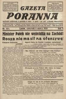 Gazeta Poranna. 1920, nr5111