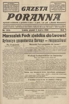 Gazeta Poranna. 1920, nr5113
