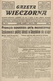 Gazeta Wieczorna. 1920, nr5114