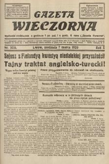 Gazeta Wieczorna. 1920, nr5118