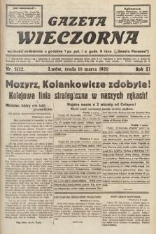 Gazeta Wieczorna. 1920, nr5122