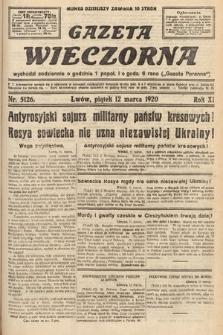 Gazeta Wieczorna. 1920, nr5126