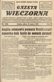 Gazeta Wieczorna. 1920, nr5128