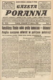 Gazeta Poranna. 1920, nr5135