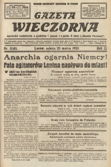 Gazeta Wieczorna. 1920, nr5140