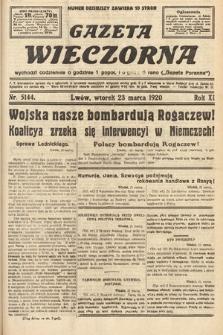 Gazeta Wieczorna. 1920, nr5144