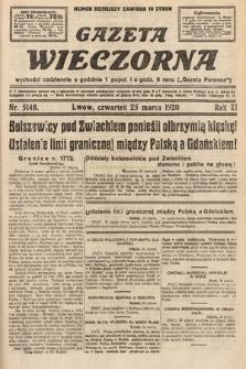 Gazeta Wieczorna. 1920, nr5148