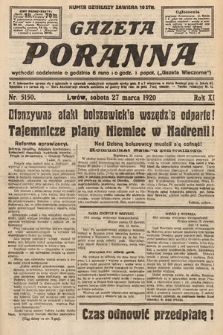 Gazeta Poranna. 1920, nr5150