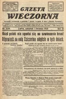 Gazeta Wieczorna. 1920, nr5159