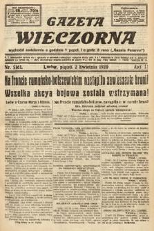 Gazeta Wieczorna. 1920, nr5161