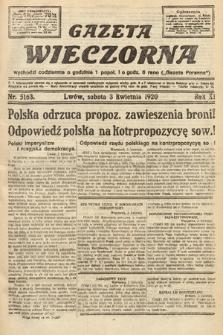 Gazeta Wieczorna. 1920, nr5163