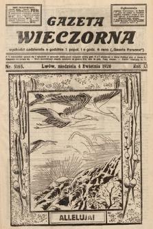 Gazeta Wieczorna. 1920, nr5165