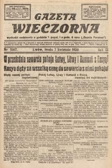 Gazeta Wieczorna. 1920, nr5167