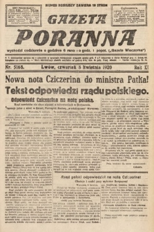 Gazeta Poranna. 1920, nr5168