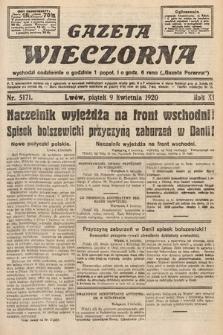 Gazeta Wieczorna. 1920, nr5171