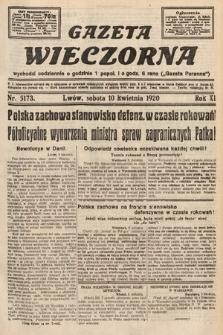 Gazeta Wieczorna. 1920, nr5173