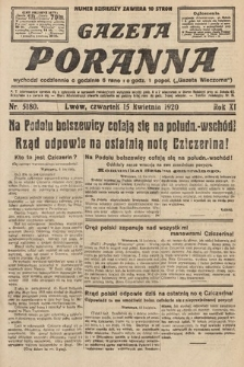 Gazeta Poranna. 1920, nr5180