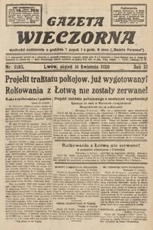 Gazeta Wieczorna. 1920, nr5183