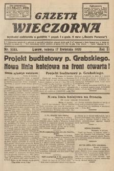 Gazeta Wieczorna. 1920, nr5185