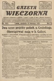 Gazeta Wieczorna. 1920, nr5187