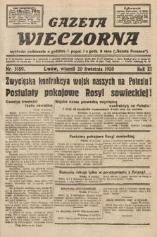 Gazeta Wieczorna. 1920, nr5189