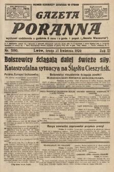 Gazeta Poranna. 1920, nr5190