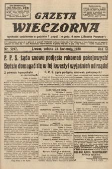 Gazeta Wieczorna. 1920, nr5197
