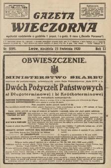 Gazeta Wieczorna. 1920, nr5199