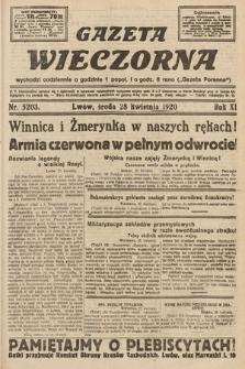 Gazeta Wieczorna. 1920, nr5203