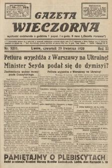 Gazeta Wieczorna. 1920, nr5205