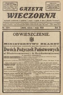 Gazeta Wieczorna. 1920, nr5209