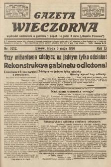 Gazeta Wieczorna. 1920, nr5212