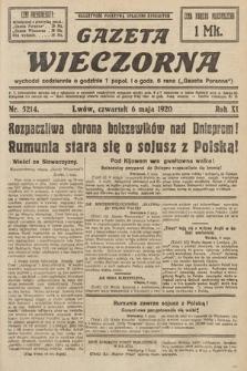 Gazeta Wieczorna. 1920, nr5214