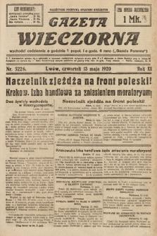 Gazeta Wieczorna. 1920, nr5226