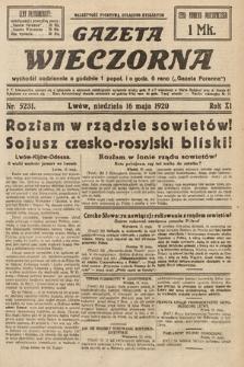 Gazeta Wieczorna. 1920, nr5231