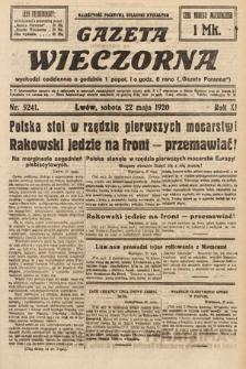 Gazeta Wieczorna. 1920, nr5241
