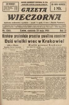 Gazeta Wieczorna. 1920, nr5243