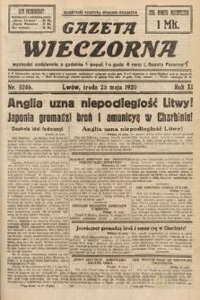 Gazeta Wieczorna. 1920, nr5246