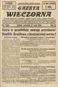 Gazeta Wieczorna. 1920, nr5248