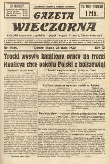 Gazeta Wieczorna. 1920, nr5250